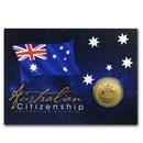 2020 Australia $1 Australian Citizenship (In Card)