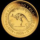 2020 Australia 1 kilo Gold Kangaroo BU