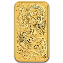 2020 Australia 1 oz Gold Dragon BU