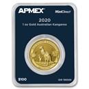 2020 Australia 1 oz Gold Kangaroo (MintDirect® Single)