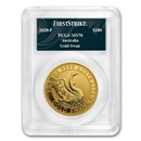 2020 Australia 1 oz Gold Swan MS-70 PCGS (FS, Swan Label)