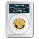 2020 Australia 1 oz Gold Swan PR-70 PCGS (FS, Swan Label)