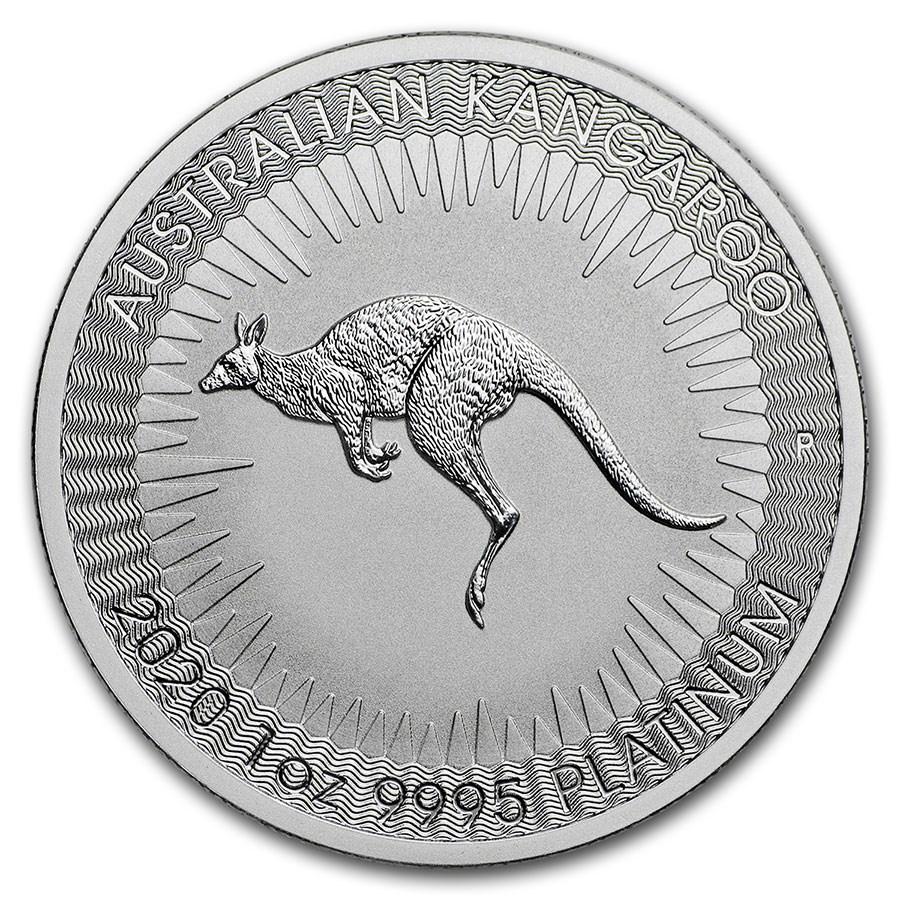 2020 Australia 1 oz Platinum Kangaroo BU