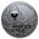 2020 Australia 1 oz Silver $1 Redback Spider BU