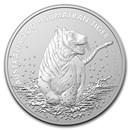 2020 Australia 1 oz Silver $1 Sumatran Tiger BU