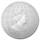 2020 Australia 1 oz Silver Beneath the Southern Sky BU