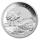 2020 Australia 1 oz Silver Emu BU