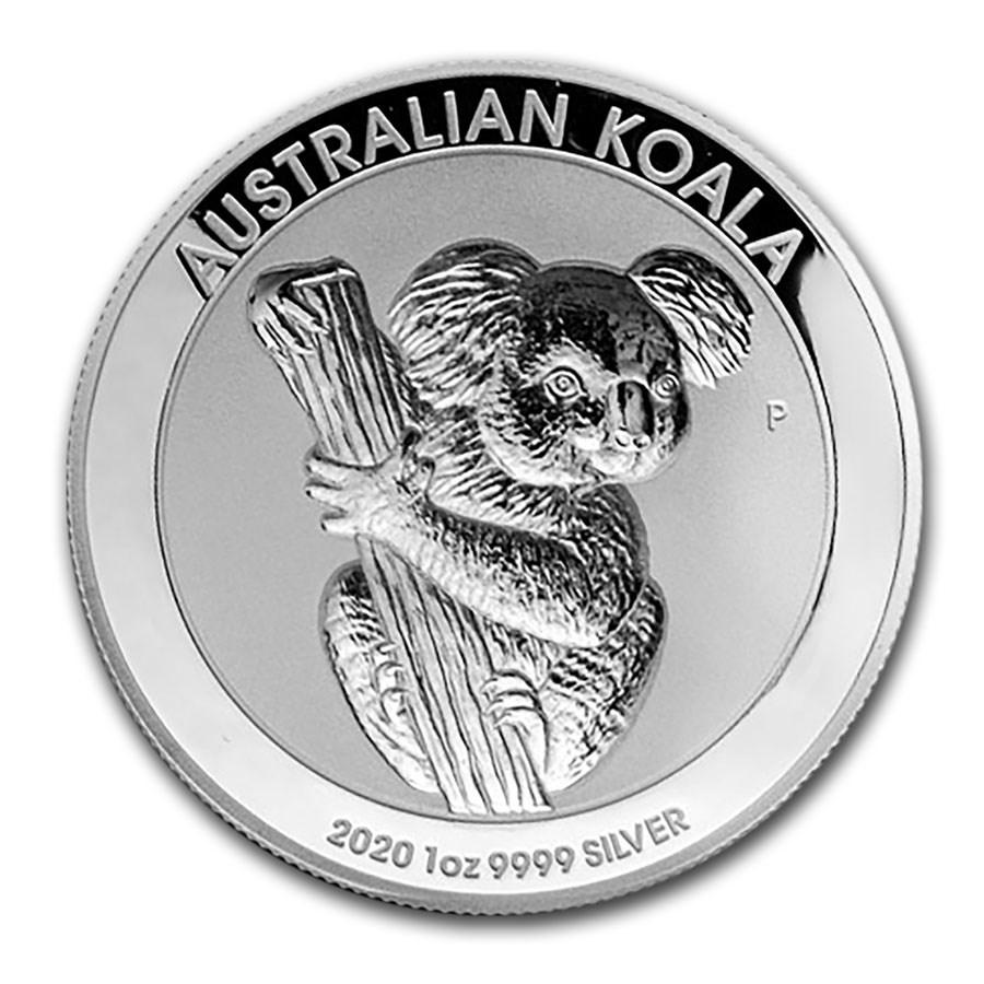 2020 Australia 1 oz Silver Incused Koala Proof (High Relief)