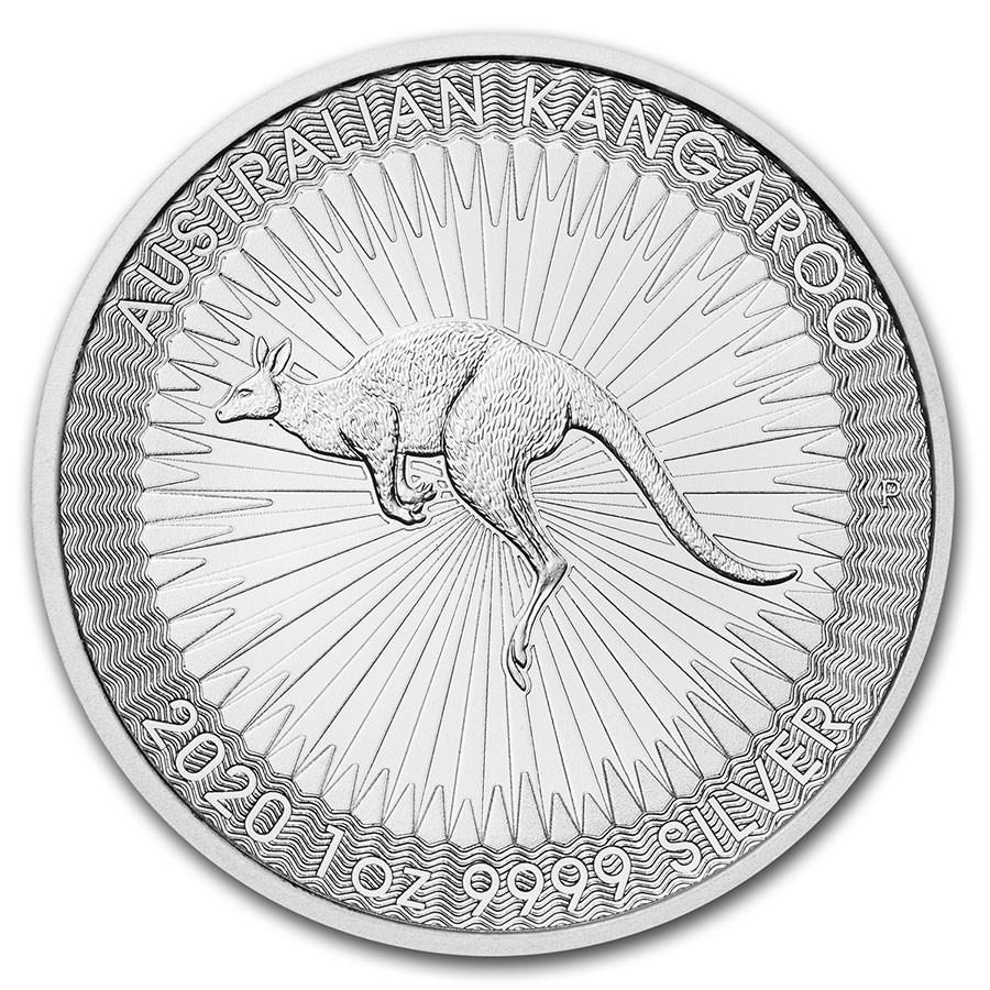 2020 Australia 1 oz Silver Kangaroo BU