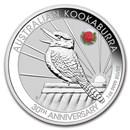 2020 Australia 1 oz Silver Kookaburra (ANDA Sydney Special)