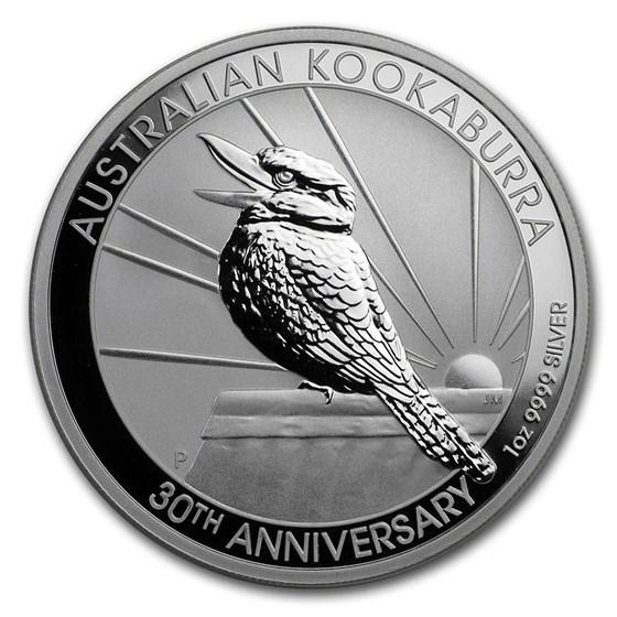 2020 Australia 1 oz Silver Kookaburra BU
