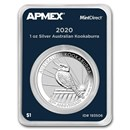 2020 Australia 1 oz Silver Kookaburra (MintDirect® Single)