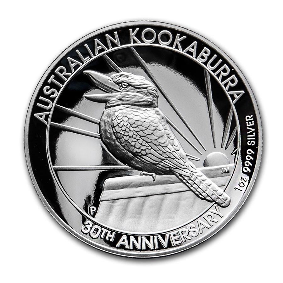 2020 Australia Kookaburra 1 oz .9999 Silver Coin Encapsulated