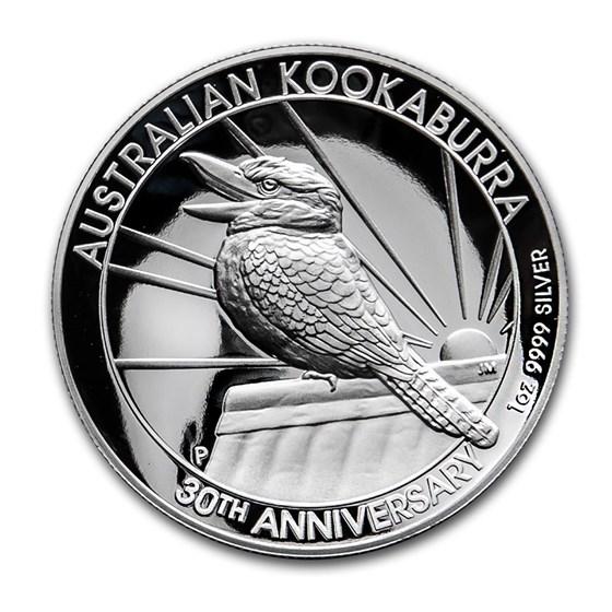 2020 Australia 1 oz Silver Kookaburra Proof (High Relief)