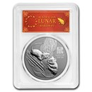 2020 Australia 1 oz Silver Lunar Mouse MS-70 PCGS (FS, Red Label)