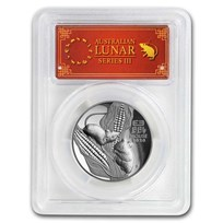 2020 Australia 1 oz Silver Mouse HR PR-70 DCAM (FS, Red Label)