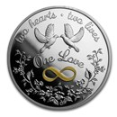 2020 Australia 1 oz Silver One Love Proof