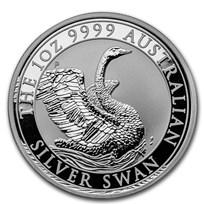 2020 Australia 1 oz Silver Swan BU
