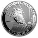 2020 Australia 10 oz Silver Kookaburra BU