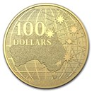 2020 Australia $100 1 oz Gold Beneath the Southern Sky BU