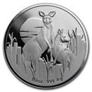 2020 Australia Silver $1 Kangaroo at Dawn Proof