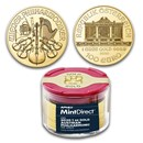 2020 Austria 1 oz Gold Philharmonic (10-Coin MintDirect® Tube)