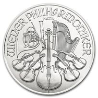 2020 Austria 1 oz Platinum Philharmonic BU