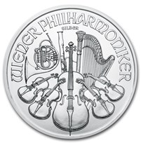 2020 Austria 1 oz Silver Philharmonic BU