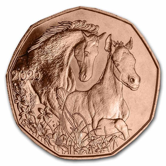 2020 Austria Copper €5 Horse