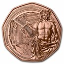 2020 Austria Copper €5 New Year's 150th Anniversary Musikverein