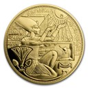 2020 Austria Pf Gold €100 Magic of Gold (Gold of the Pharaohs)