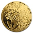 2020 Austria Proof Gold €50 Alpine Treasures (High Peaks)