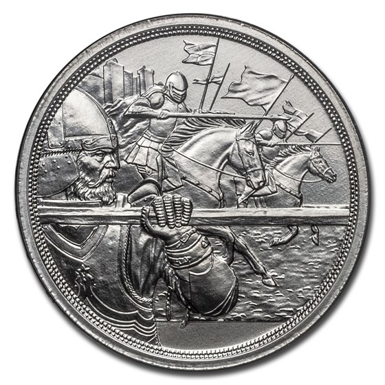 2020 Austria Silver €10 Knights' Tales (Courage)