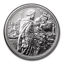 2020 Austria Silver €10 Knights' Tales (Fortitude)