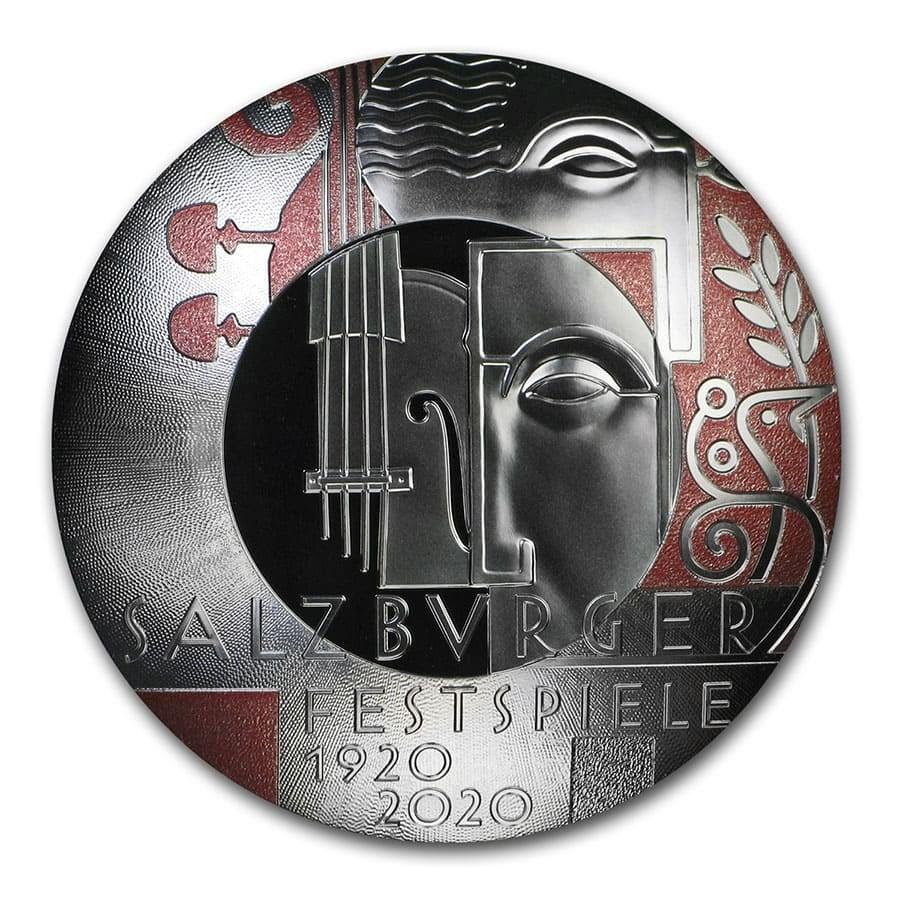 2020 Austria Silver €20 Centenary of the Salzburg Festival