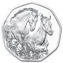 2020 Austria Silver €5 Horse