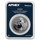 2020 BVI 1 oz Silver Pegasus Reverse Frosted Cameo (MD® Premier)