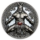 2020 Cameroon 2 oz Silver Antique World Cultures (Haka)