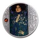 2020 Cameroon Silver Gustav Klimt; Portrait of Emilie Floge