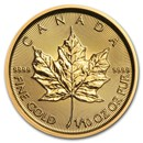 2020 Canada 1/10 oz Gold Maple Leaf BU