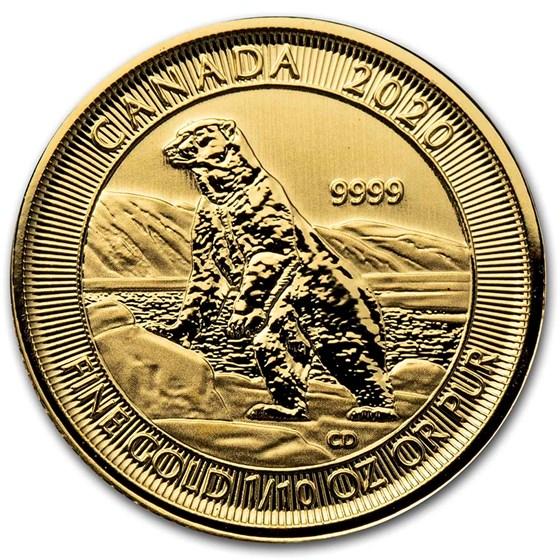 2020 Canada 1/10 oz Gold Polar Bear BU
