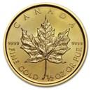 2020 Canada 1/2 oz Gold Maple Leaf BU