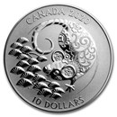 2020 Canada 1/2 oz Proof Silver $10 Lunar Year of the Rat