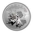 2020 Canada 1/2 oz Silver $10 O'Canada! Maple Leaves