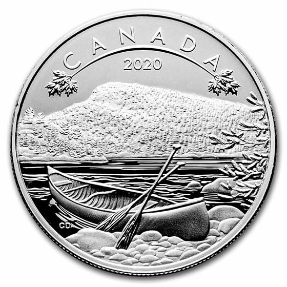 2020 Canada 1/2 oz Silver $10 O'Canada! The Great Outdoors