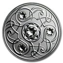 2020 Canada 1/4 oz Silver $5 Birthstones: April