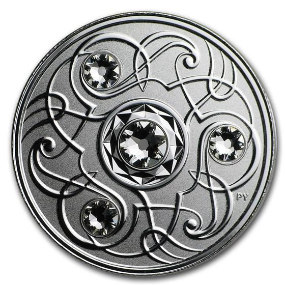 2020 Canada 1/4 oz Silver $5 Birthstones: April