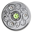 2020 Canada 1/4 oz Silver $5 Birthstones: August