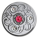 2020 Canada 1/4 oz Silver $5 Birthstones: July