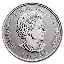2020 Canada 1/4 oz Silver $5 Birthstones: June